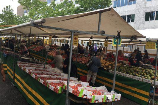 Almere Farmer market produce