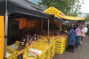 Almere Farmer market bakery