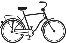 dutch bike icon