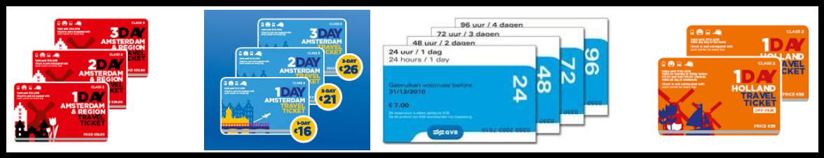 Amsterdam Travel Passes & Tickets