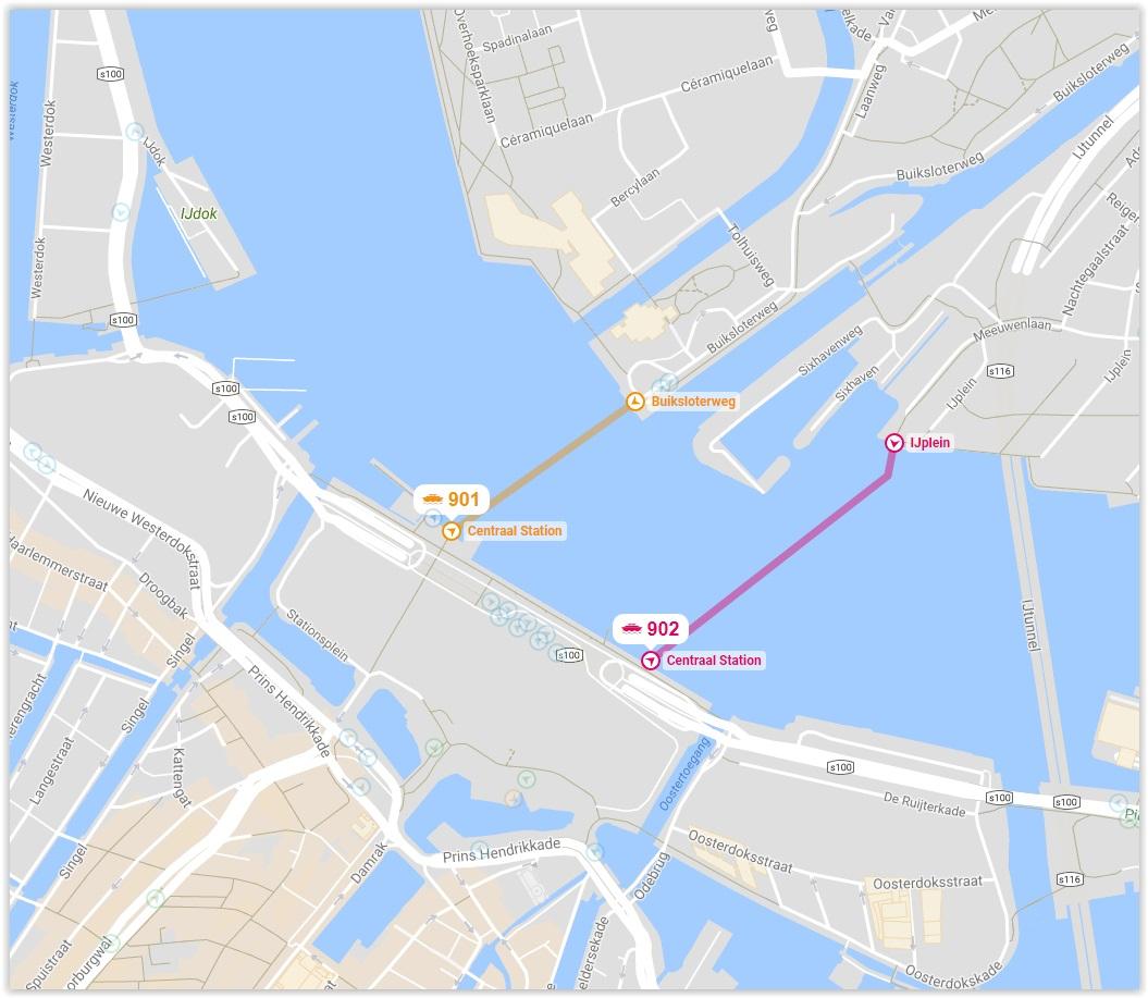 Amsterdam Free Ferry Rides
