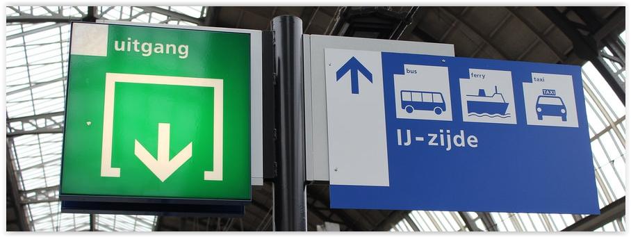AmsAmsterdam Free Ferry Signterdam Free Ferry Sign