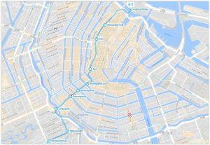 Amsterdam Tram 5 Map