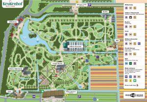 Keukenhof Gardens Map