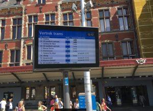 Amsterdam Tram Monitor